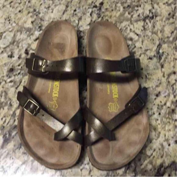 b2916f2a6c9 Birkenstock Shoes - Birkenstock Mayari Golden Brown 38