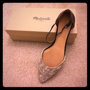 Size 10 madewell flats