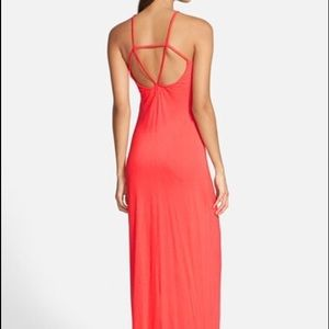 Leith Dresses & Skirts - SALE🌹Strappy Cayenne colored Maxi Dress