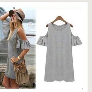 Tops - Loose low shoulder one size