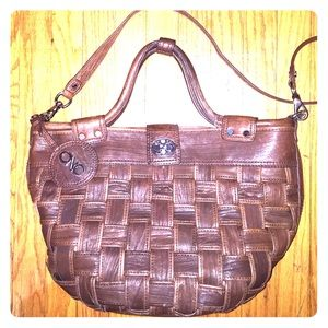 Authentic CoSTUME NATIONAL basket weave purse