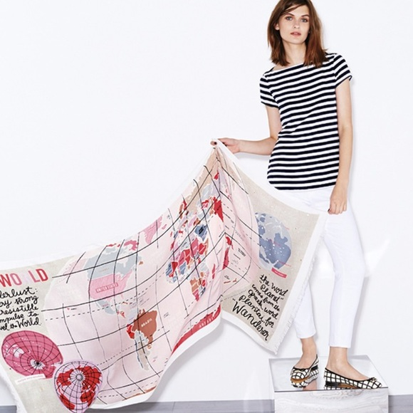 Kate spade accessories arriving soon kate spade world map scarf arriving soon kate spade world map scarf sciox Image collections