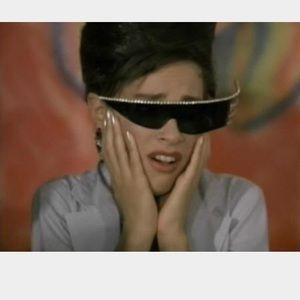 52641432c6ea Vintage Accessories - ⚡️ISO⚡ flame plume rhinestone sunglasses glasses