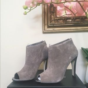 Sole Society Shoes - [Sole Society] Julian Hough Taupe Bootie