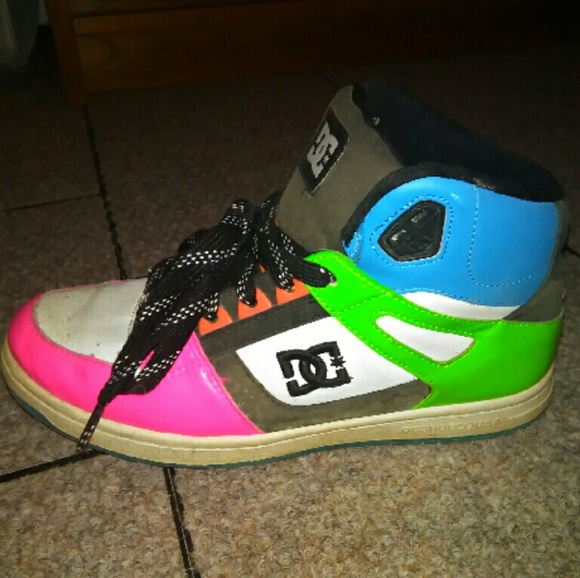 DC Shoes   Dc Neon Color High Tops