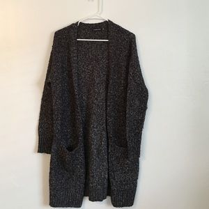 Trouve Sweaters - Trouve Oversized Open Sweater