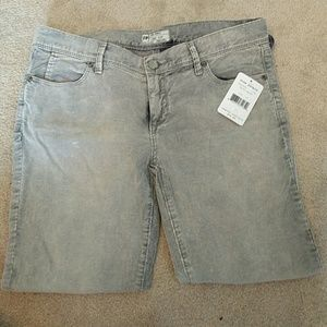 ⭐️SALE⭐️NWT Free People grey marble colored capris