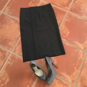 Theory Dresses & Skirts - Charcoal Grey Theory Pencil Skirt