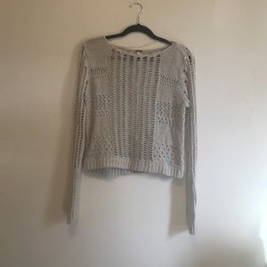 Free People Knit Crochet Sweater