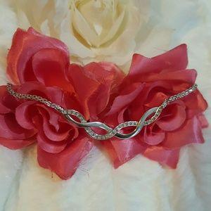 { BOGO 50% } Sterling Silver Infinity Necklace