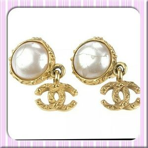 Chanel Clip Earrings
