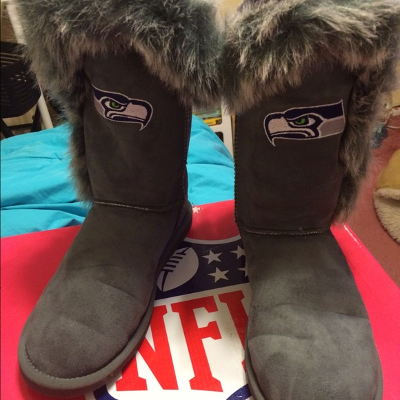 Seattle Seahawks ugg style boot by NFL d95a7643d16