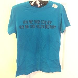 Tee size small never worn