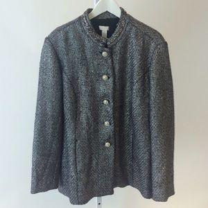 Chico's Jackets & Blazers - Chico's Metallic Jacket