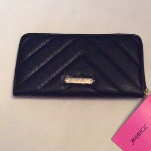 Betsey Johnson Black Wallet NWT