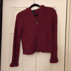 Abercrombie & Fitch wool hoodie