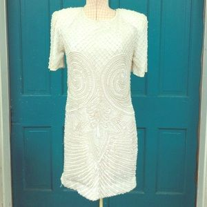 Fully Beaded Vintage Dress