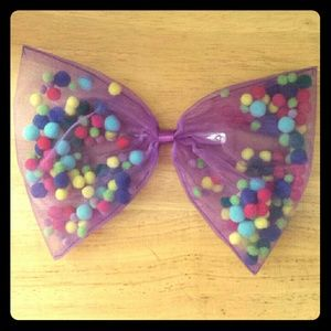 🍬Never Worn Candy Bubbly Lace Hair Bow !🍬