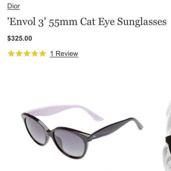 0f09d8a29d8 Dior Accessories - Authentic Dior Envol 3 Cat Eye Sunglasses