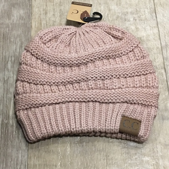 7c4601535 ROSE- Slouchy Knit Beanie Boutique