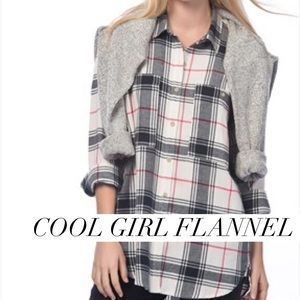 GAP Tops - Flannel for every day