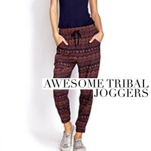 Pants - Awesome joggers rad print
