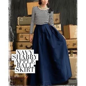 Dresses & Skirts - Navy ball skirt