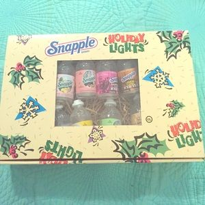 Other - Vintage Snapple bottle string lights