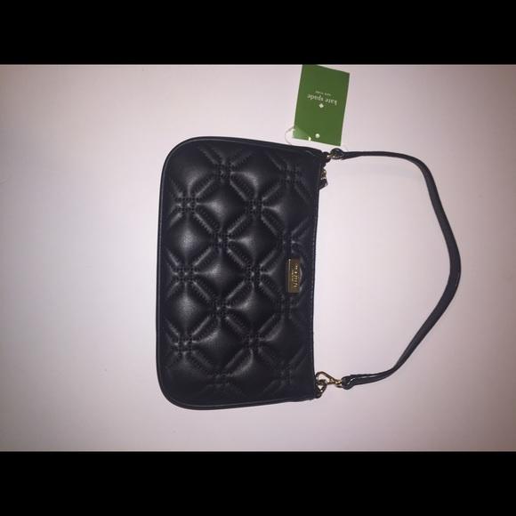 77% off kate spade Handbags - Kate Spade Astor Court Quilted ... : quilted wristlet - Adamdwight.com