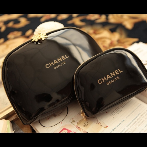 04406d518bc9 CHANEL Bags | Set Of 2 Beaute Cosmetic Vip Gift | Poshmark
