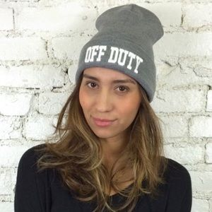 Sincerely Jules off duty beanie