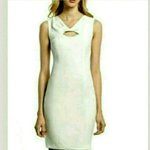 Muse  Dresses & Skirts - Classic NWT Ivory Sleeveless Dress by Muse Size 6