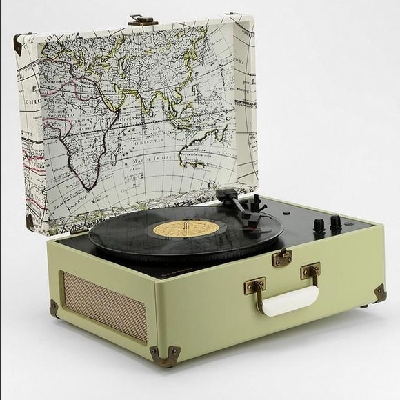 Other | Crosley World Map Record Player | Poshmark