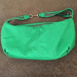 Green Two in one purse