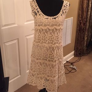 Solitaire Crochet Dress