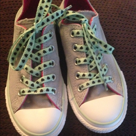 converse shoes for girls gray