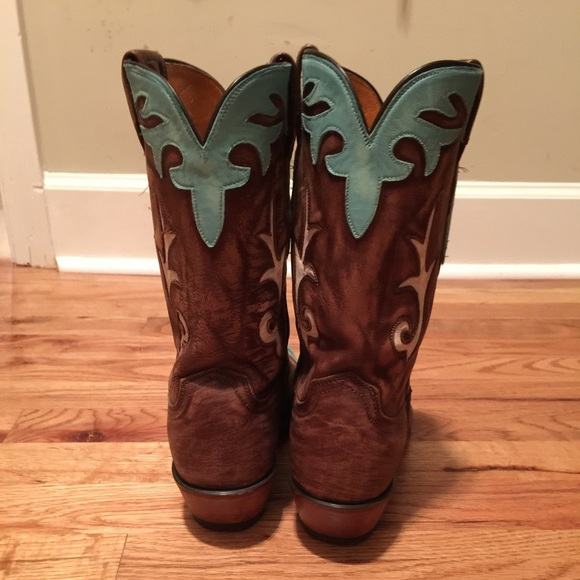 59 lucchese shoes lucchese brown turquoise boots
