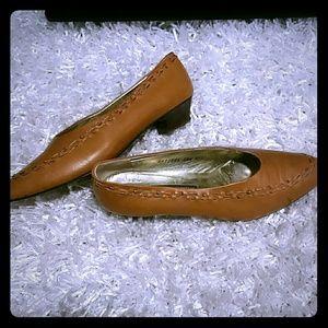 Mario Valentino Shoes - Mario Valentino luggage brown shoes 38.5 8.5