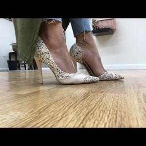 L.A.M.B. Shoes - L.A.M.B Kadie Half d'Orsay Pump -Sale❗️