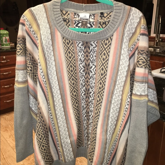 57% off CAbi Sweaters - Cabi Fall 2015 Fair Isle Poncho from ...