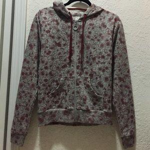 Stussy zip up hoodie