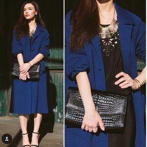 SOLD Oversized Cobalt Blue Coat