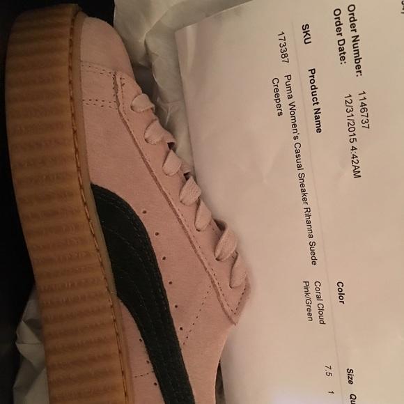 Rihanna Tamaño De Los Zapatos De Puma 11 mK7eMB