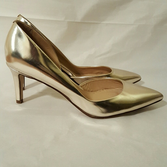 7949642ca94e J. Crew Shoes - J. Crew Valentina Mirror Metallic Pumps