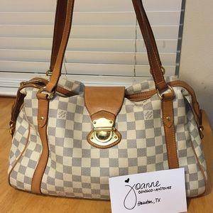 bcc3a1926ab6 ... SOLD!! pre-loved Louis Vuitton stresa GM Azur ...