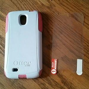Galaxy S4 case & screen protector