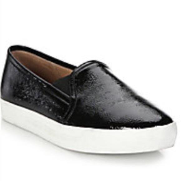 Joie Leather Slip-On Sneakers Ku3EjSx20