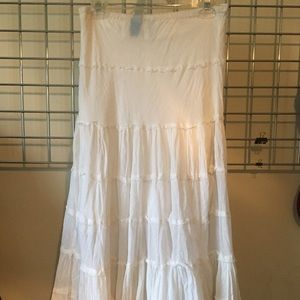Dresses & Skirts - Long white skirt.
