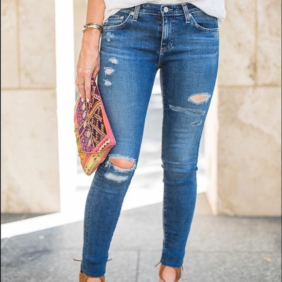 b0a6cc1e ZARA Ripped Jeans. M_5691476244adba6098039c9d