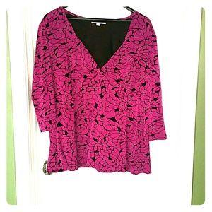Merona plus size blouse